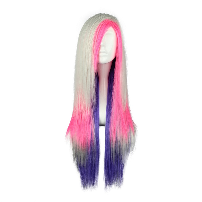 Hair Extensions & Wigs Synthetic None-lacewigs Mcoser 55cm Long Multi-color Beautiful Lolita Wig Anime Wig And To Have A Long Life.