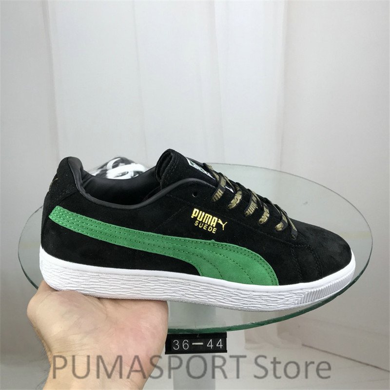 45e7f6077c55 New Arrival PUMA Suede 50 Classic x Xlarge Men s and Women s Breathable  Sneaker Badminton Shoes Size36-44
