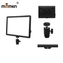 Mamen Photography Lighting For Sony Nikon Canon Flash LED Speedlite SLR DSLR Camera Flash Light Photo Studio Lighting Stand