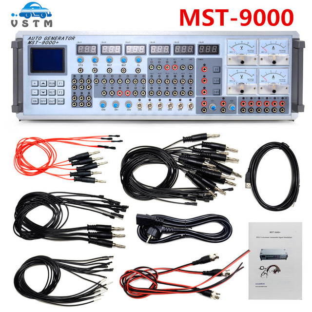 US $588 0 | MST 9000 MST9000 Automobile Sensor Signal Simulation Tool  MST9000+ MST 9000 DHL Free Shipping-in Air Bag Scan Tools & Simulators from