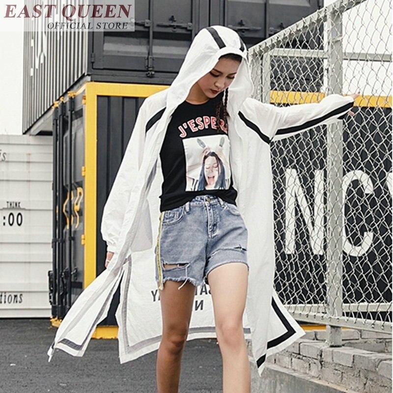 Cappuccio Camicette Di Un Lettera Maniche Lunghe Parti Per Femme 1 Ff371 Con Bianco Le Size Donne Allentato Superiori Camicetta Plus Streetwear 2018 Estate qHCOpS