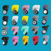 Replacement Luggage Wheels Suitcase Colorful Spinner Universal Wheel W041