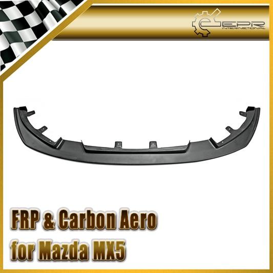Car styling For Mazda MX5 ND5RC Miata Roadster FRP Fiber Glass Odula Style Front Lip