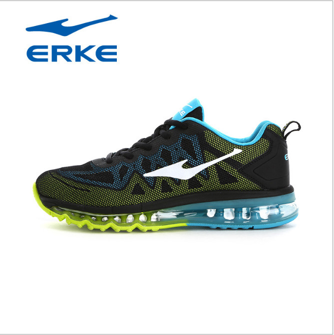 Erke mens shoes authentic sports shoes travel couple mesh air cushion spring slow non-slip running shoesErke mens shoes authentic sports shoes travel couple mesh air cushion spring slow non-slip running shoes