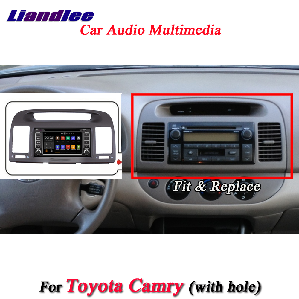 Liandlee Android System For Toyota Camry 2000~2003 With Hole Radio BT DVD Player Frame GPS Navi MAP Navigation Screen Multimedia цена
