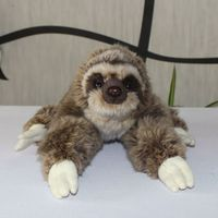 Soft Children'S Toys Cute Sloth Doll Real Life Plush Stuffed Animal Toy Pillow present