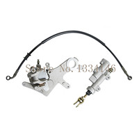 Rear Brake Caliper & Master Cylinder & Oil Hose Pipe For Honda CRF250X CRF 250X 2004 2009 & 2008 2009 & 2012 2013 & 2015 2016