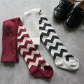 Otoño del resorte del bebé niñas medias wapiti algodón medias niños niñas pantimedias medias de los niños 0-7year