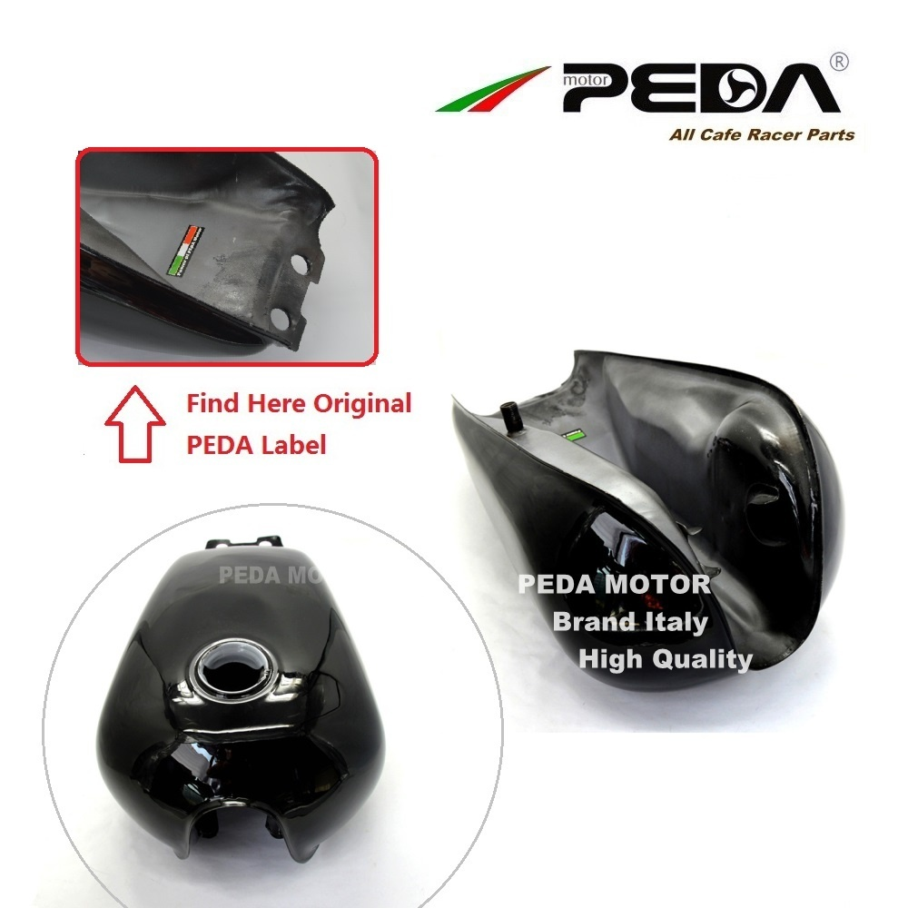 C3 PEDA Cafe Racer Tank 9L GN Black Motorcycle Vintage Fuel Can Retro Petrol tank For SUZUKI GN250 For HONDA Gasoline in Fuel Tank from Automobiles Motorcycles