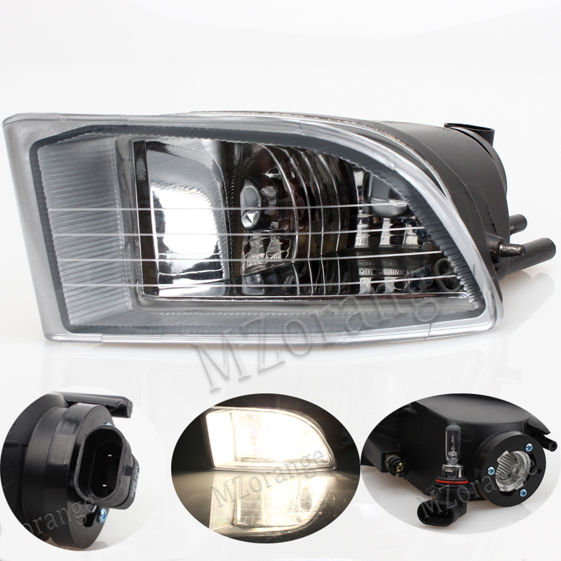 MZORANGE Front Fog Light Fog Lamp For Land Cruiser LC120 2002 2003 2004 2005 2006 2007 2008 2009 For Toyota PRADO 120 2700/4000 mzorange for toyota prado 120 2700 4000 for land cruiser lc120 2002 2003 2004 2005 2006 2007 2008 2009 front fog light fog lamp