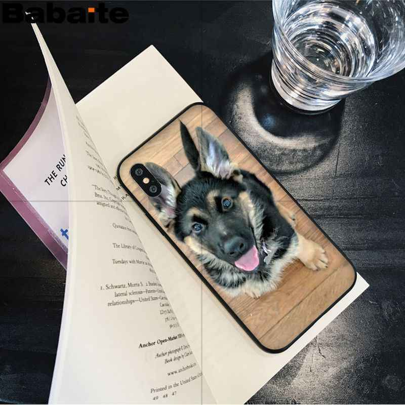 Babaite немецкая овчарка Собака клиент высокое качество чехол для телефона Apple iPhone 8 7 6 6 S Plus X XS MAX 5 5S SE XR чехол