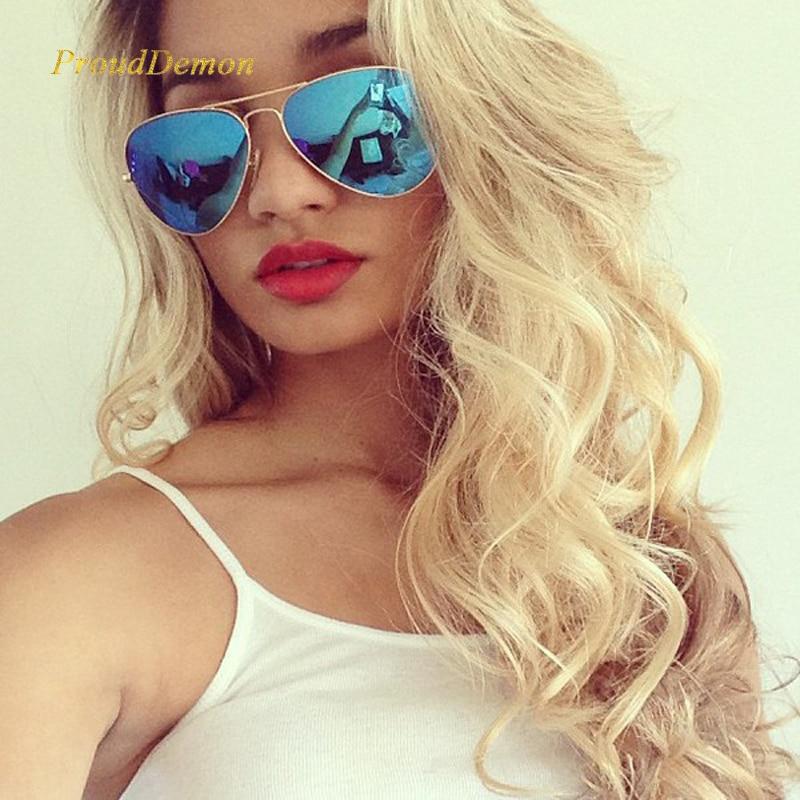 Divatos klasszikus Avaitor polarizált napszemüveg nők férfiak tükör pilóta napszemüvegek nők férfiak márka tervező unisex UV400