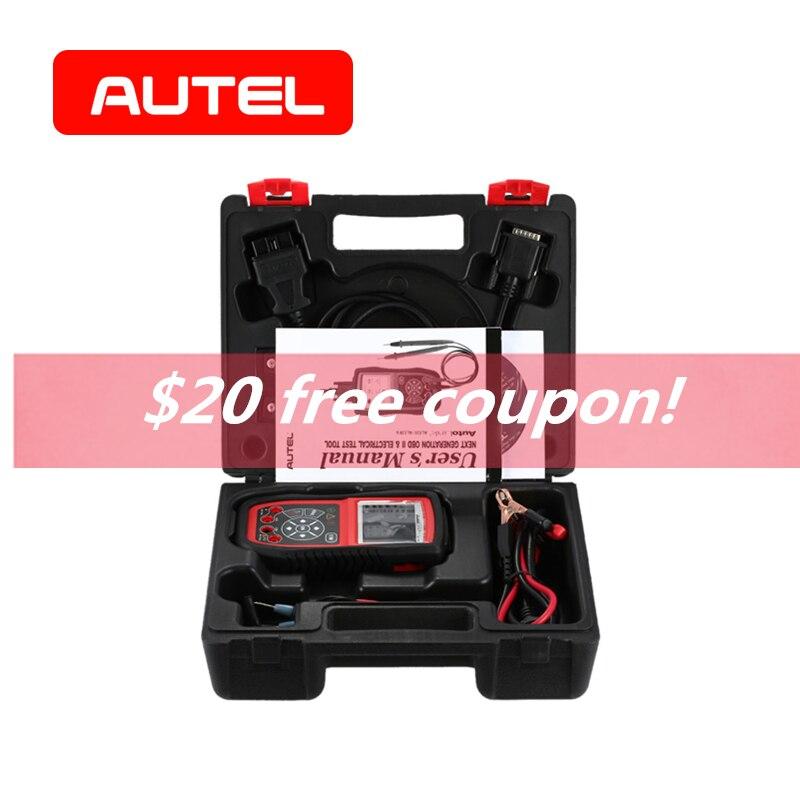 Autel Autolink AL539B OBD2 Scanner Électrique Outil De Diagnostic OBD II Batterie Circuit De Charge De Départ Systèmes Test Code Lecteur