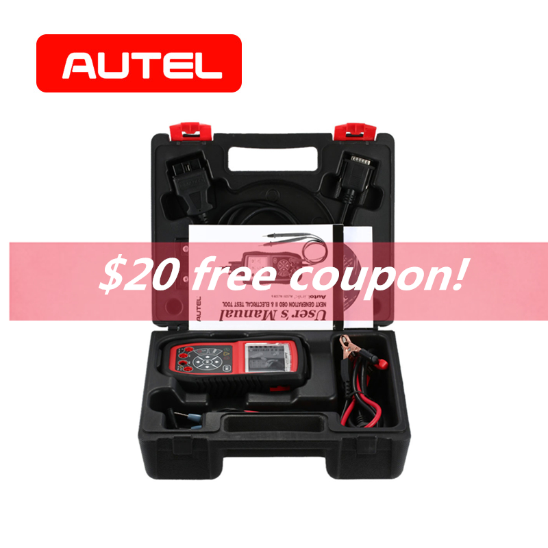 Autel Autolink AL539B OBD2 Scanner Electrical Diagnostic Tool OBD II Battery Circuit Starting Charging Systems Test Code Reader цена