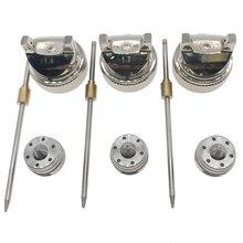 1.4 ミリメートル/1.7 ミリメートル/2.0 ミリメートルノズル交換ノズルキットセット用 hvlp スプレーガン H 827 ハンド空気圧手動スプレーペイントガン