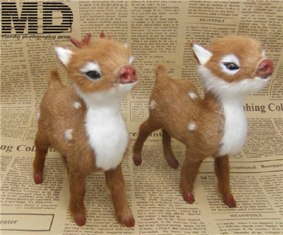 Deer toy doll,Christmas gift,newborn photography backdrop deer doll photography props