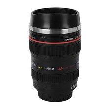 12 Unze Kamera Objektiv Tasse 24-105 Kaffee Reisebecher Thermos Neue Kaffee Objektiv Emulation Kamera Becher Tasse Bier tasse