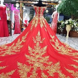 Image 3 - AIJINGYU robes de mariée à manches longues en dentelle et Tulle robes de mariée musulmanes avec prix 3 en 1 porter robe de mariée de grande taille corée