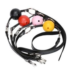 Наручники БДСМ соблазнительное обтягивающее белье БДСМ набор наручники для секса кляп в рот игры эротические игрушки для взрослых БДСМ сек...