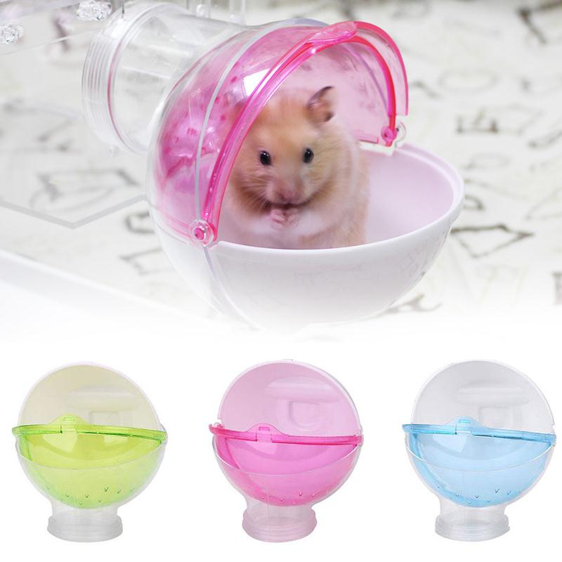 Small Pet Cage House Hamster Rabbit Portable Guinea Pig Pee Toilet Pets Bathroom Litter Tray Corner Pet Litter Training Product