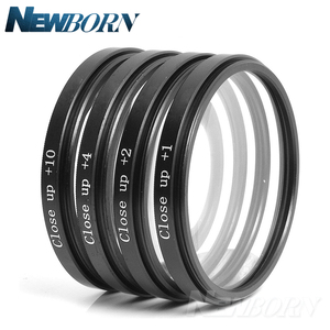 Image 3 - 49 52 55 58 62 67 72 77 MM Macro Close up Filter +1+2+4+10 Set+ UV CPL FLD +ND2 4 8 Camera Lens Filter+Hood for Canon Nikon Sony
