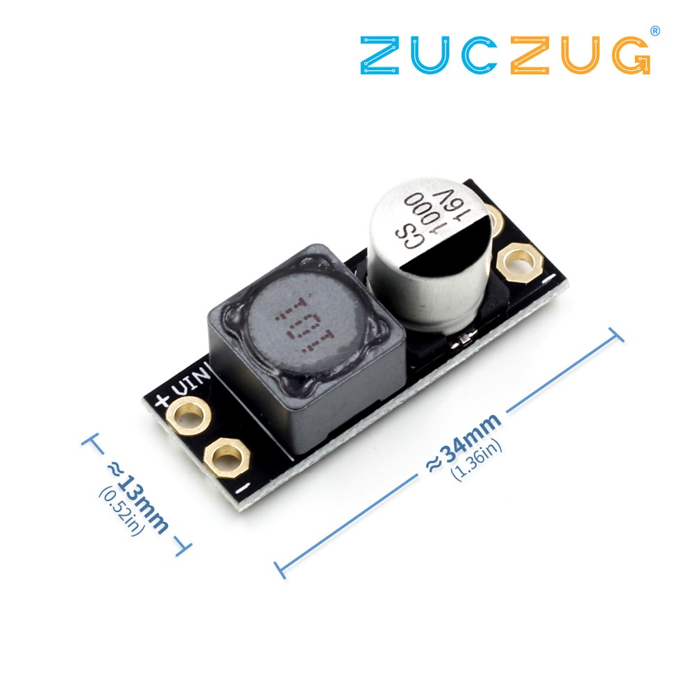 L-C Power Filter 2A RTF LC-FILTER (3AMP 2-4S) LC Module Lllustrated Eliminate Moire Video Signal Filtering For FPV Video