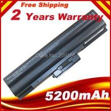 Bateria portátil de 5200mah para celular, para sony vaio VGP BPS13/s VGP BPS13A/s VGP BPS21/s VGP BPL21A VGP BPS13A/b VGP BPS21B VGP BPL13