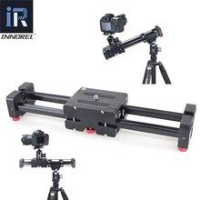 INNOREL DL40, слайдер для камеры с двойным расстоянием, Профессиональная Регулируемая рельсовая тележка для DSLR, видеокамеры, DV, кинематографа, волшебная дорожка
