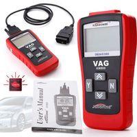 Hot Koop Konnwei KW809 Scan OBDII OBD2 Auto Scanner Code Reader Auto Diagnostische Tester Voor VW Audi Skoda Gratis Verzending
