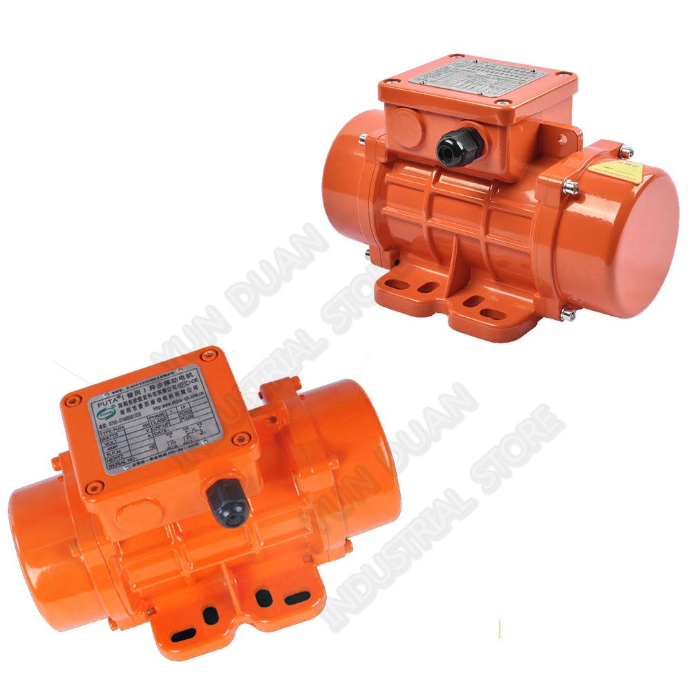 110V 200W 1Phase 200KG Strong Force Vibrate Vibration Motor Waterproof dustproof for Mining Blanking Mixer Building Packaging CE110V 200W 1Phase 200KG Strong Force Vibrate Vibration Motor Waterproof dustproof for Mining Blanking Mixer Building Packaging CE