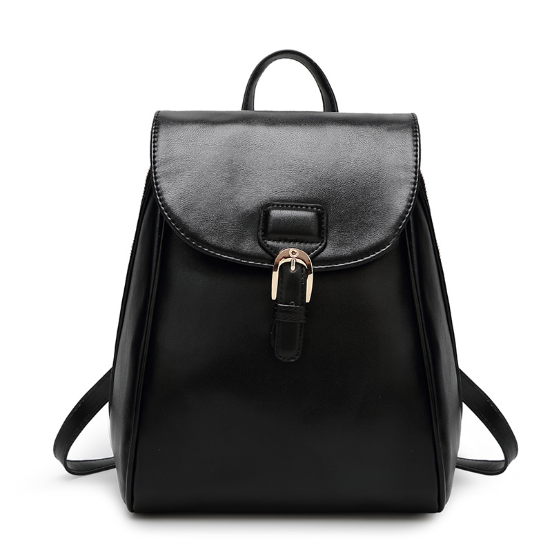 ФОТО 2016 Preppy Style PU Leather Backpack School Women Casual Bag Student Travel Backpack Free Shipping CW1243