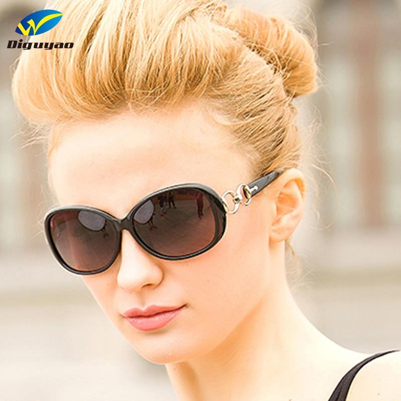 DIGUYAO 2019 خمر عصري المرأة الكلاسيكية الفاخرة النظارات المستقطبة oculos دي سول feminino النساء العلامة التجارية مصمم
