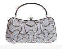 Hollow Design Womens Evening brand bag Bag Clutch Handbag Wedding Party Shoulder Bag Purse