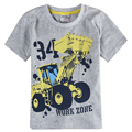retail baby boys clothes summer cotton short sleeve fashion car pattern boy t-shirt nova kids 2016 new children boys clothes