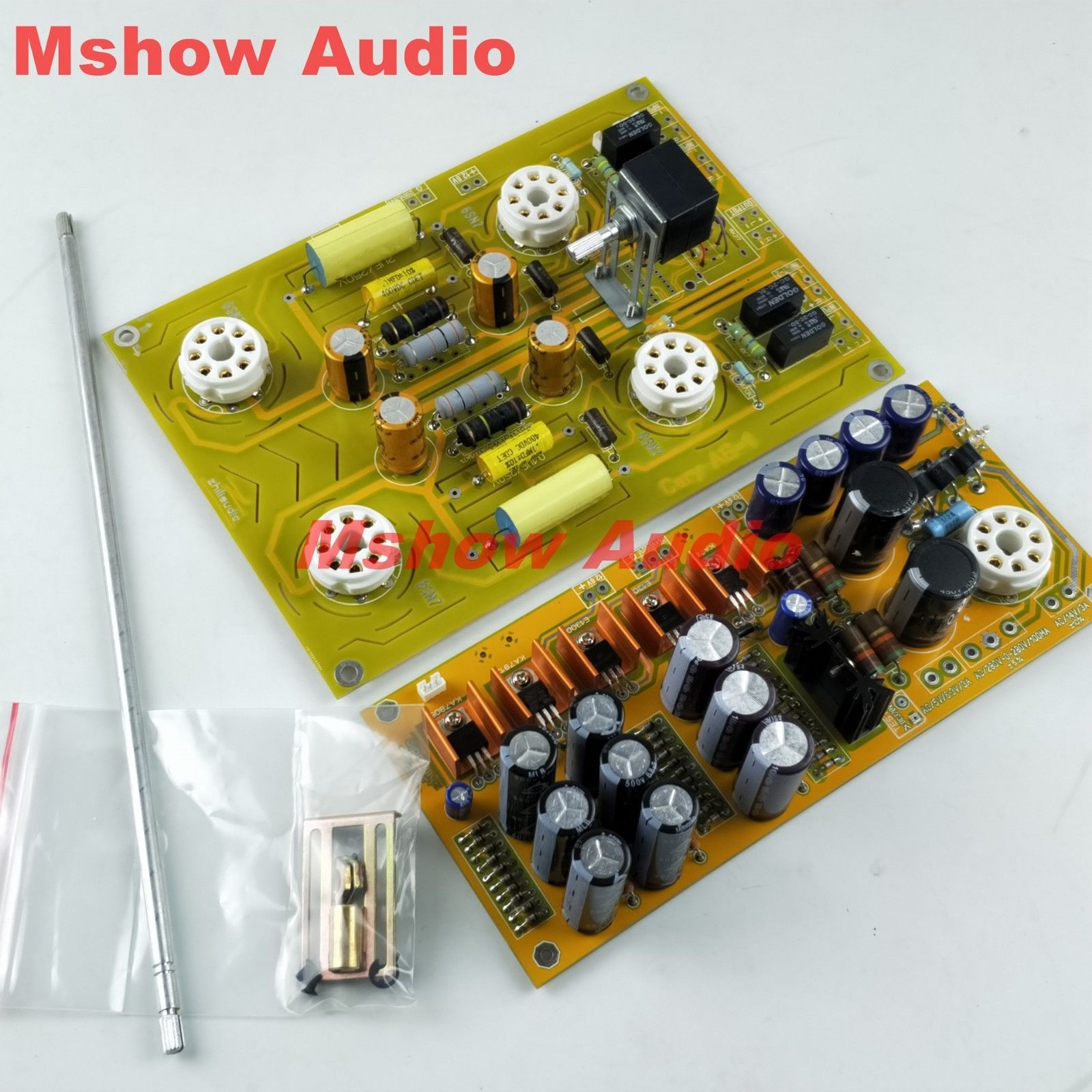 HIFI 6SN7 Tube preamplifier Preamp assembled Board refer Famous circuit Cary pre-amp Audio by ZHI assembled upgraded n5 preamplifier board hifi amp board with 2134 opa