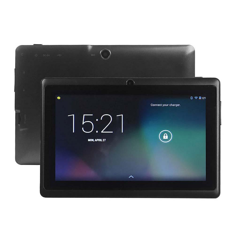 7 Android 4.4 8GB Dual Cameras Quad Core WiFi Kids Tablet PC For Gifts Black
