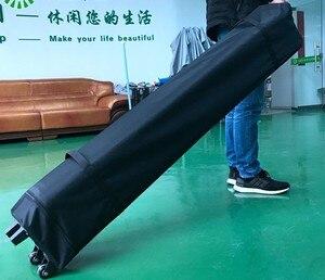 Bolsa de transporte con ruedas, bolsas de almacenamiento de transporte para tienda plegable de 3x3m, Gazebo, tienda Pop-Up, Marco y tela de toldo