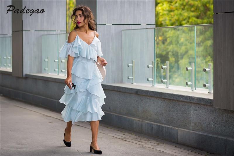 Pista Off Ael Gray Summe Spalla Elegante Balza Blue piani Del Multi Filati Modo E Eugen Di 2017 Vestito Abbigliamento Lane Donne Irregolare Orrqd