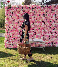 SPR Free Shipping 10pcs/lot  wedding flower wall for stage or backdrop planning wedding event artificial floral decorations