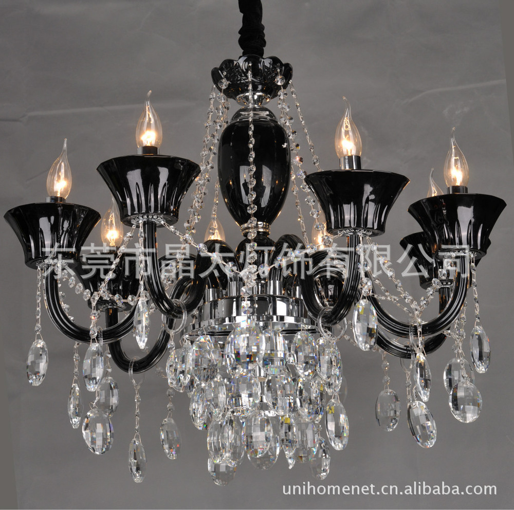 Us 829 17 Pendant Lights Modern Low Pressure Crystal Lamps Living Room Candle Lamp Companies In