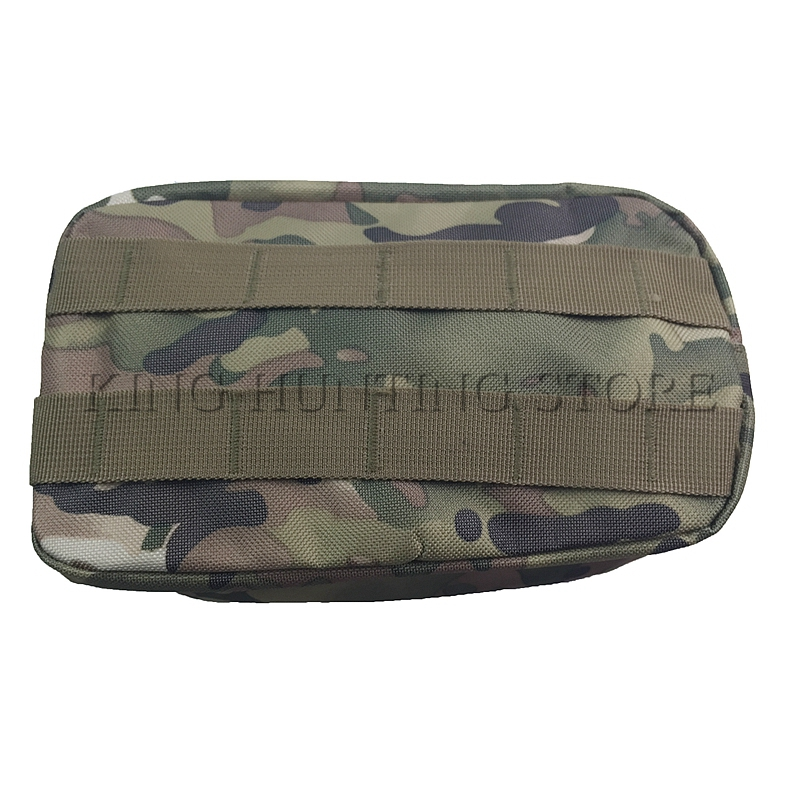Tactical MOLLE EMT Medical First Aid Utility Pouch Bag Nylon 1000D CP Size 20x10x8cm Molle Bag Multicam Outdoor Hunting