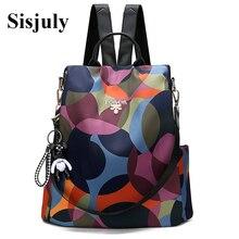 Новый женский рюкзак Оксфорд Multifuction Bagpack повседневное Anti Theft рюкзак для подростка обувь девочек школьный 2019 Sac Dos mochila