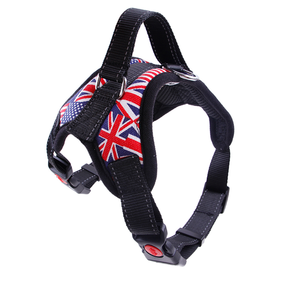 Home & Garden 2019 Nylon Heavy Duty Dog Pet Harness Collar Padded Extra Big Large Medium Small Dog Harnesses Vest Husky Dogs Supplies Buy One Give One
