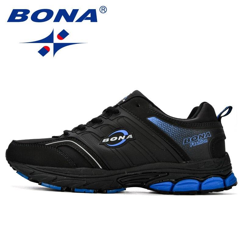 Купить с кэшбэком BONA Men Casual Shoes Microfiber Man Flats Lace Up Breathable Men Fashion Classic Outdoor Shoes Zapatos De Hombre Free Shipping