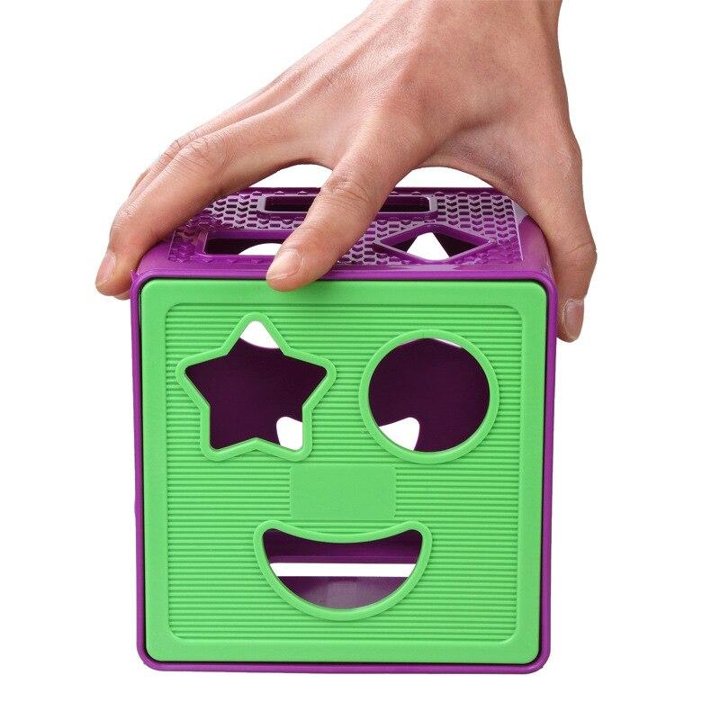 BOHS сортировочный куб геометрической формы s сортировочные детские игрушки, с 18 блоками и 1 кубиком