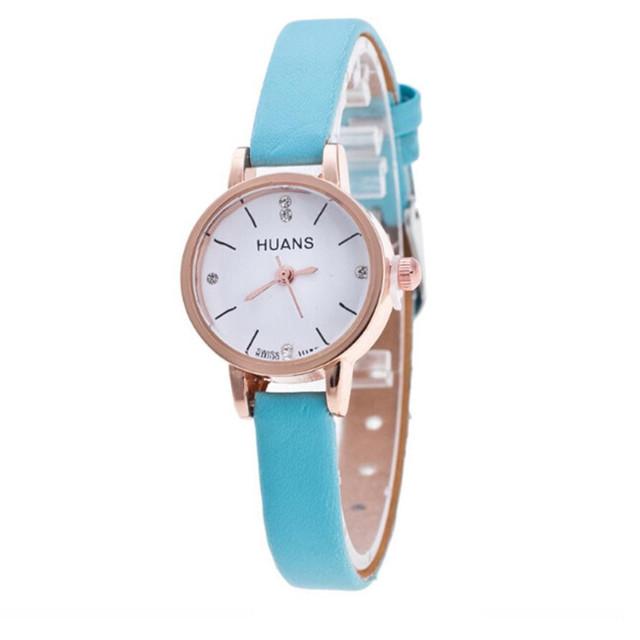 Reloj con correa para mujer a la moda minimalista, elegante, reloj de diamantes