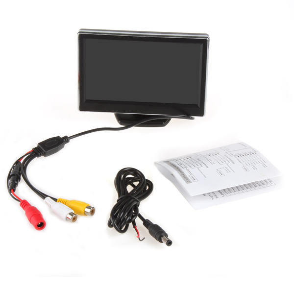 Brand New 5 Inch TFT LCD Digital font b Car b font Rearview Monitor Reverse Backup