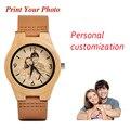 BOBO BIRD на заказ, семейные подарки, бамбуковые парные часы для мужчин и женщин, кварцевые наручные часы с логотипом для женщин, гравировка лого...