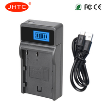 JHTC EN-EL3e ENEL3e EN EL3e USB Battery Charger For Nikon D70S D80 D90 D50 D300S D300 D100 D20 with LCD display Camera Charger цена