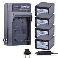 4 pc 3900 mah NP-FV100 NPFV100 FV100 Bateria Li-ion + Carregador de Carro Para SONY NP HDR-CX190 HDR-XR550/E HDR-XR350 /E HDR-XR150/E
